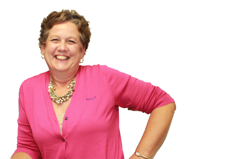 Debbie Myrand in office